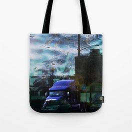 Seaweed Trucking Tote Bag