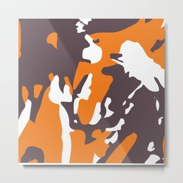 Abstract Pattern 6 Metal Print