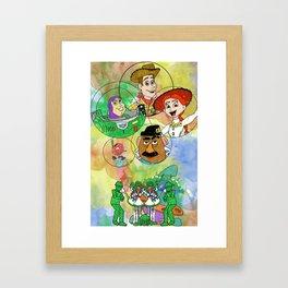 Disney Pixar Play Parade - Toy Story Unit Framed Art Print