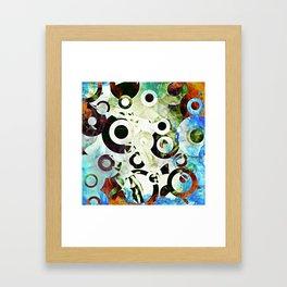 Circular 2 Framed Art Print