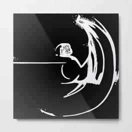 NO PUNCH LINE NO.2 - BY NATALIJA AKOVIC Metal Print