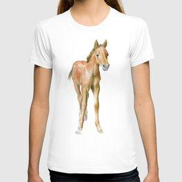 Watercolor Horse Painting T-shirt
