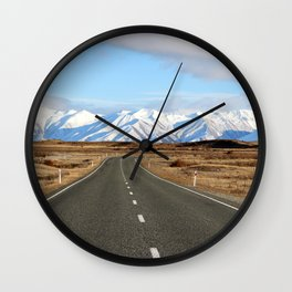 White Cap Journey Wall Clock