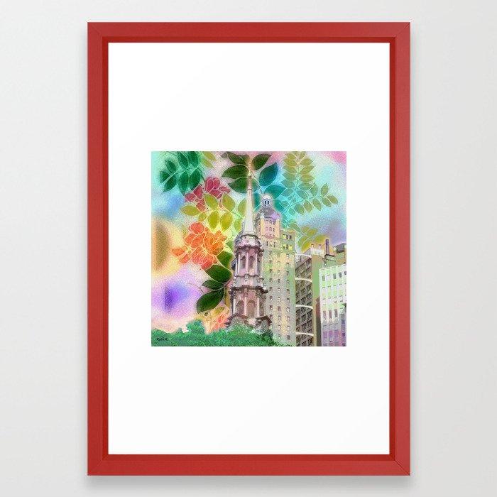 N.Y.C Framed Art Print
