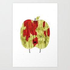 Eat Your Fruit! // Apple Art Print