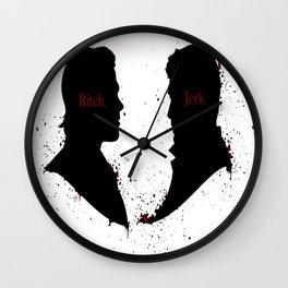 Bitch & Jerk Wall Clock