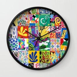 Henri Matisse Montage Wall Clock
