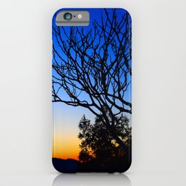 View From The Top (of The Great Wall of China) iPhone Case