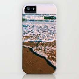 Waves at Dusk iPhone Case