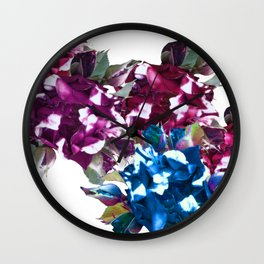 Roses Mood Wall Clock