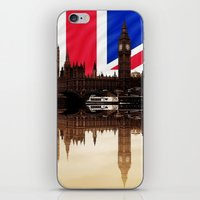 politics iPhone & iPod Skins featuring British politics by Shalisa Photography
