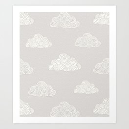 Cumulus Cloud Art Print