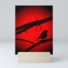 Free as a bird Mini Art Print