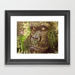 Gorilla Funk (Living on the Edged Pt. II) Framed Art Print