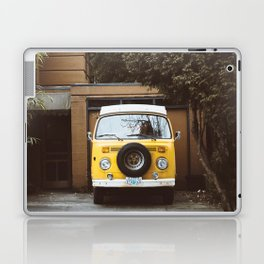 Yellow Van Ready For Road Laptop & iPad Skin