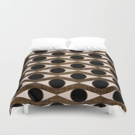 MCM Golden Eye Duvet Cover