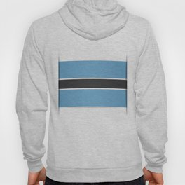 Flag of Botswana. The slit in the paper with shadows.  Hoody