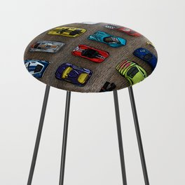 1980's Toy Cars Counter Stool