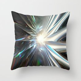 Spinning Star Throw Pillow