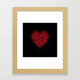 big heart 02 Framed Art Print