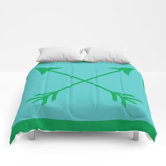 Crossed Arrows Comforters