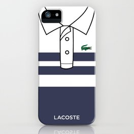 Lacostee Blue iPhone Case