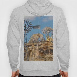 Wind Punk Golden Quivers Hoody
