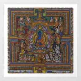 The Medicine Buddha Art Print