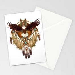 Bald Eagle Mandala Stationery Cards