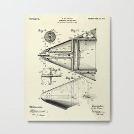 Submarine Torpedo Boat 06-1910 Metal Print