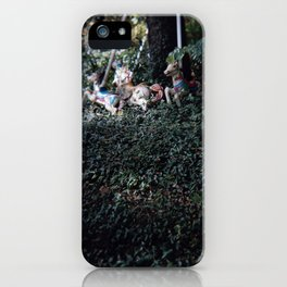 merry-go-round iPhone Case