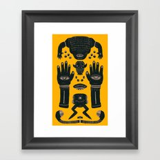 Raise yr Hands Framed Art Print