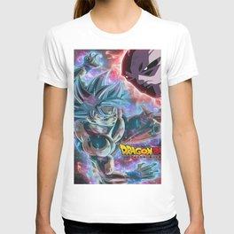 Dragon ball super son goku vs jiren T-shirt