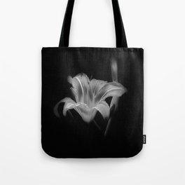 Lily BW Tote Bag