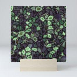 Fractal Gems 04 - Emerald Dreams Mini Art Print