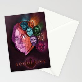 Rogue One Movie Poster Stationery Cards