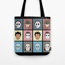 Monster Heads Tote Bag