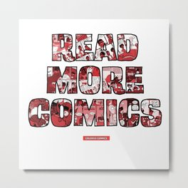 Read More Comics by Colored Comics Metal Print