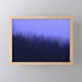 Periwinkle Fog 0367 - Seward, Alaska Framed Mini Art Print