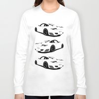 porsche Long Sleeve T-shirts featuring porsche  by Fish