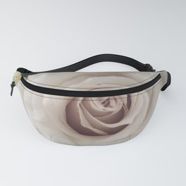 Rose Close Up Fanny Pack