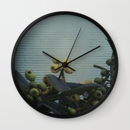 Loquats #1 - 2015 Wall Clock