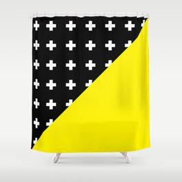 Memphis pattern 80 Shower Curtain