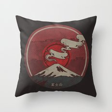 Fujisan Throw Pillow