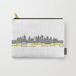 New York City Panoramic Carry-All Pouch