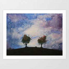 Mt. Pollux Art Print