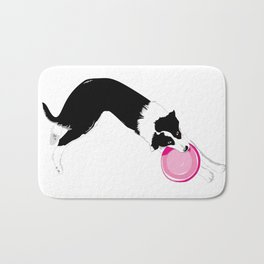 Disc Dog - Border Collie Bath Mat