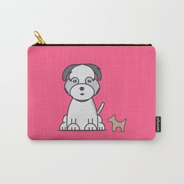 Puppy Momo Carry-All Pouch