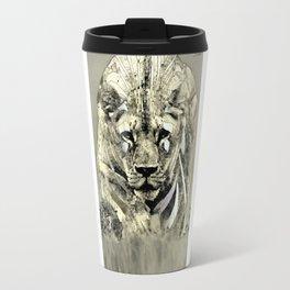 Lioness spy surveillance mission logo blanc urban fashion culture Jacob's 1968 Paris Agency Travel Mug