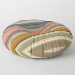 70s Stripes Floor Pillow